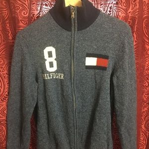 Tommy Hilifiger full zip sweater